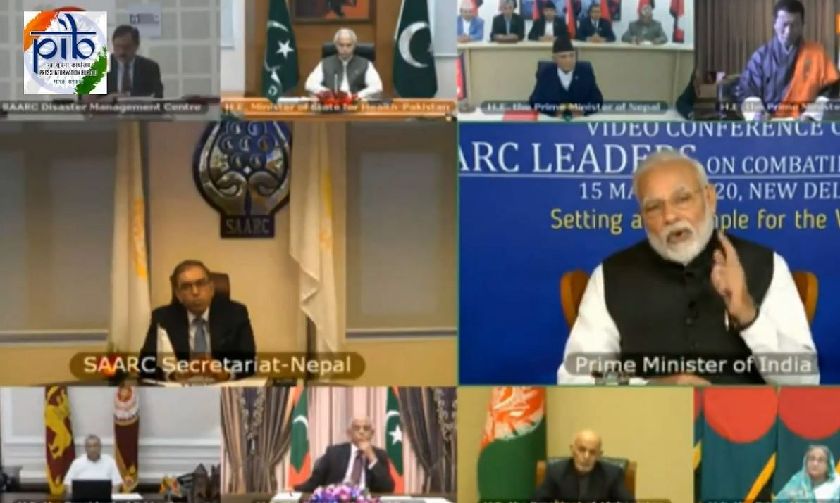 Modi proposes COVID-19 Emergency Fund for SAARC countries