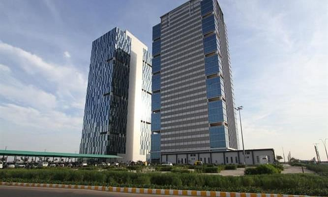 A view of GIFT City