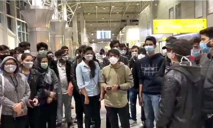 Corona: 200 Indian students stranded at Kazakhstan airport