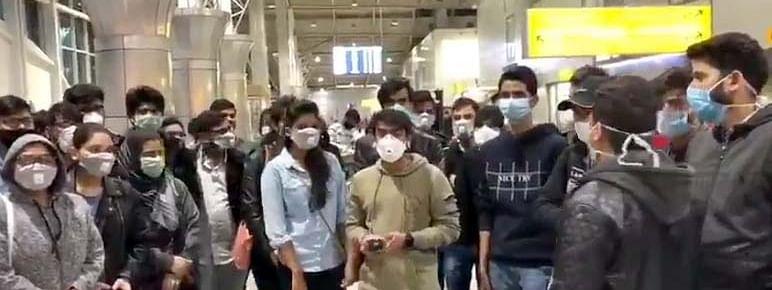 Corona: 200 Indian students stranded at Kazakhstan airport