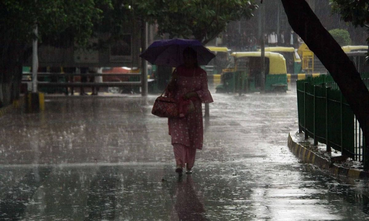 Delhi receives second-highest single-day rain in March since 1992