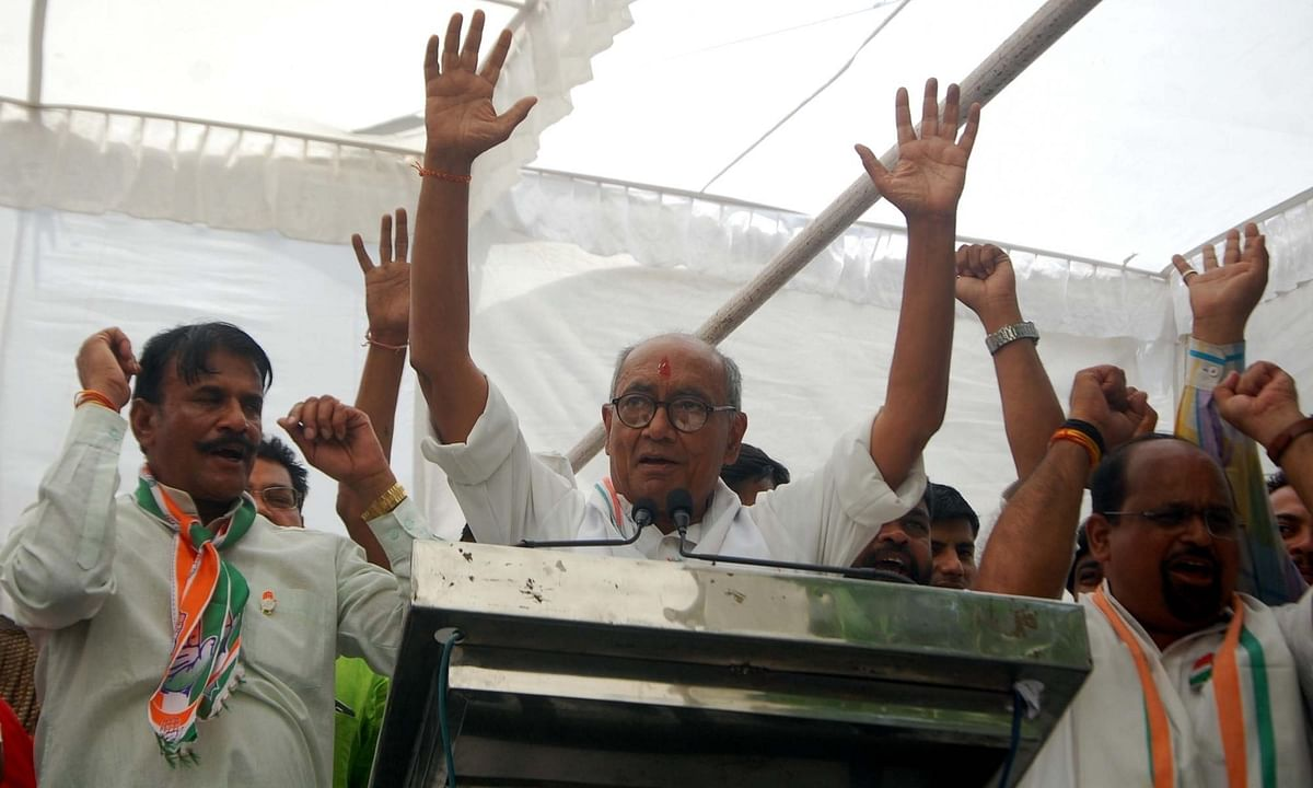 Digvijaya Singh taken into preventive custody in Bengaluru