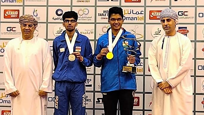 Table Tennis: Jeet Chandra crowned U-21 champion at Oman Open