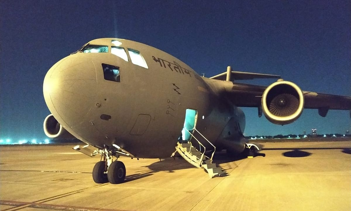 India sends C-17 Globemaster to Iran to bring back Indians