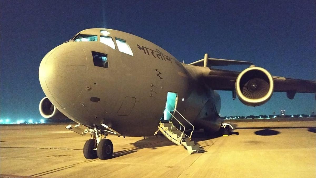 India sends C-17 Globemaster to Iran to bring back Indians