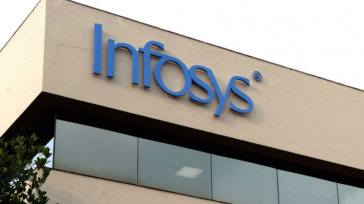 Infosys net down over 3% quarterly, up 6% yearly