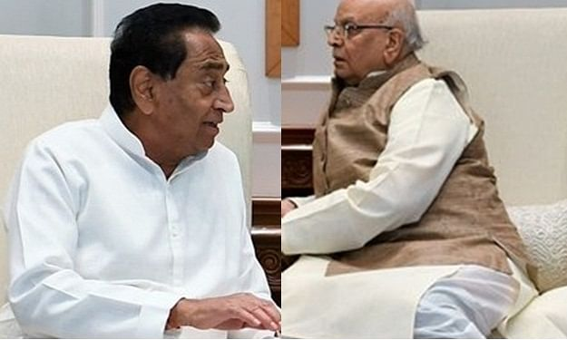 Kamal Nath meets Governor amid political crisis in MP