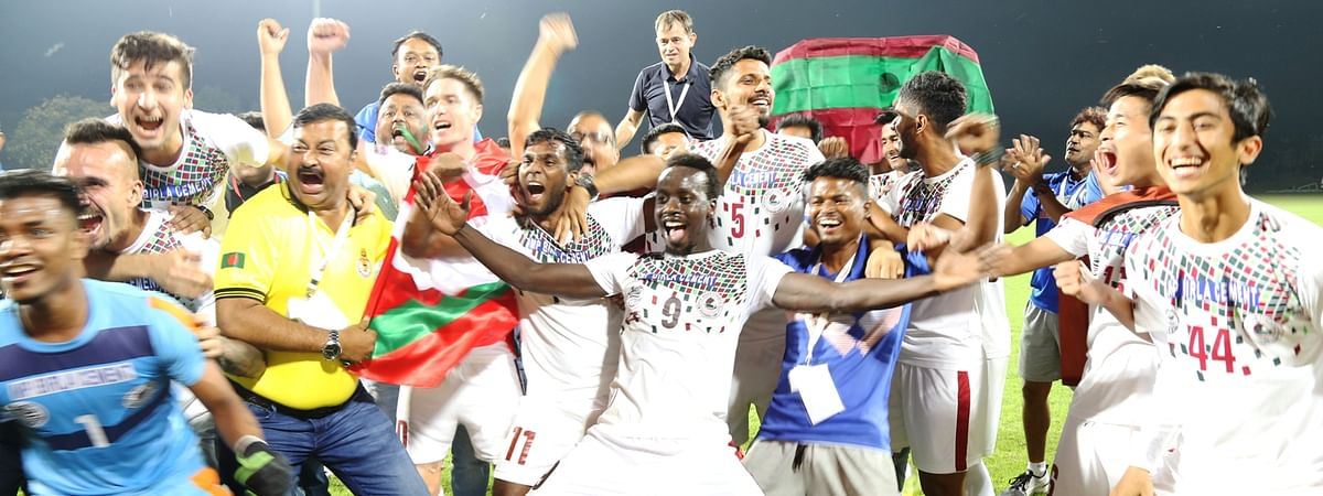 Football: Mohun Bagan pip Aizawl to win Hero I-League crown