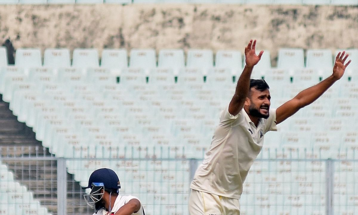 Ranji final: Bengal end Day 1 on high against Saurashtra