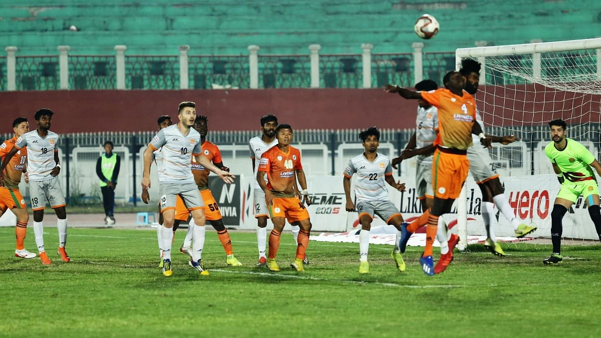 Hero I-League: Adjah's late penalty rescues a point for NEROCA