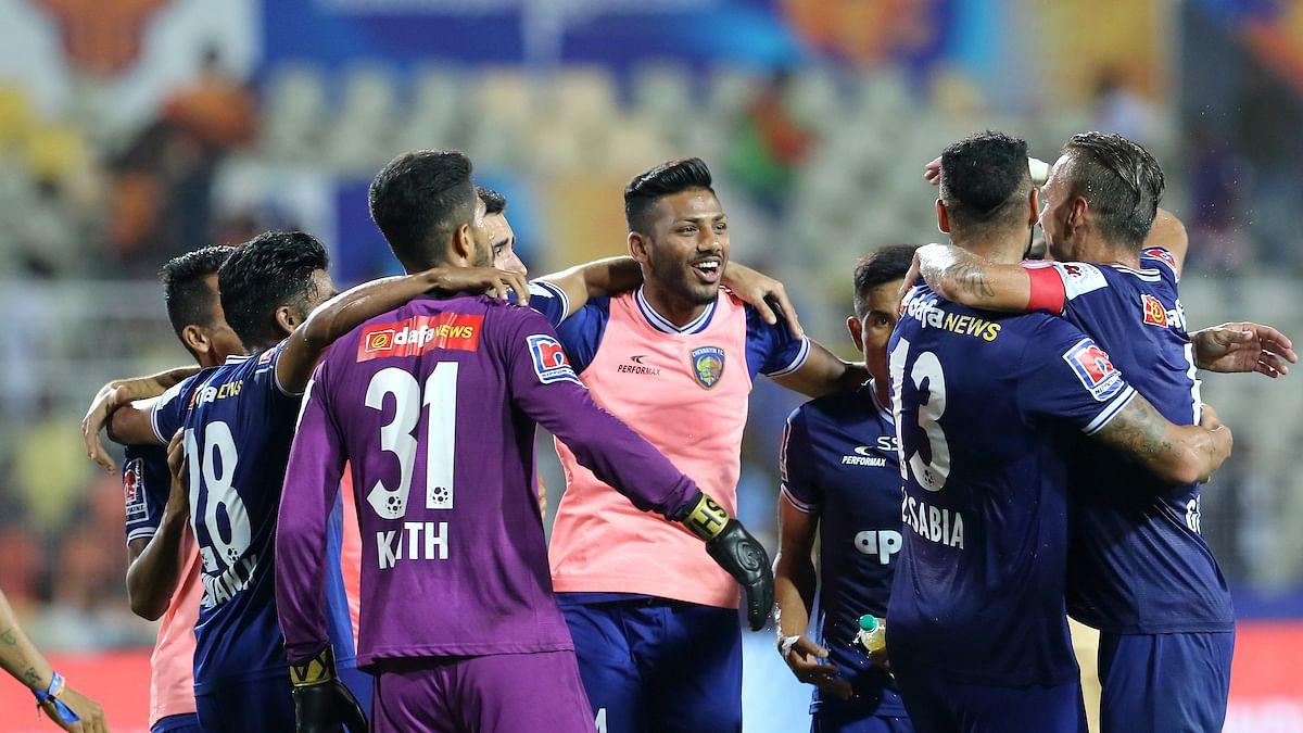 Football ISL: Chennaiyin survive Goa onslaught to reach ISL final
