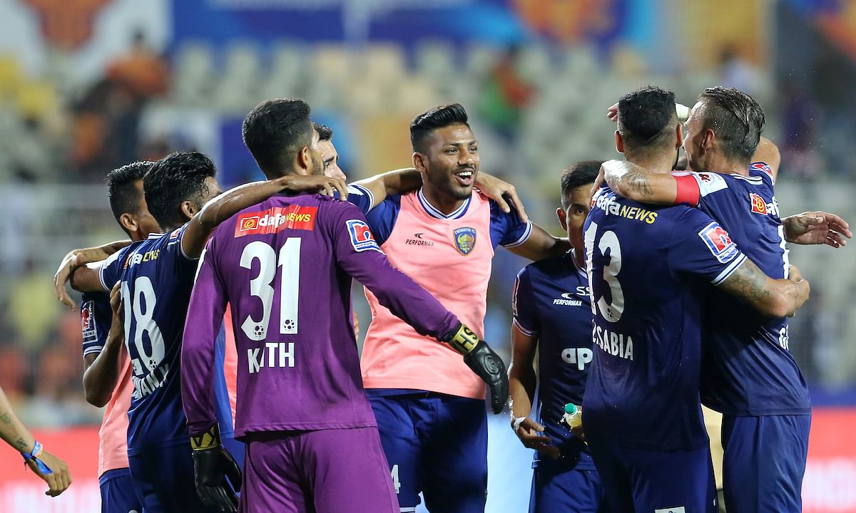 Football ISL: Chennaiyin survive Goa onslaught to reach ISL final