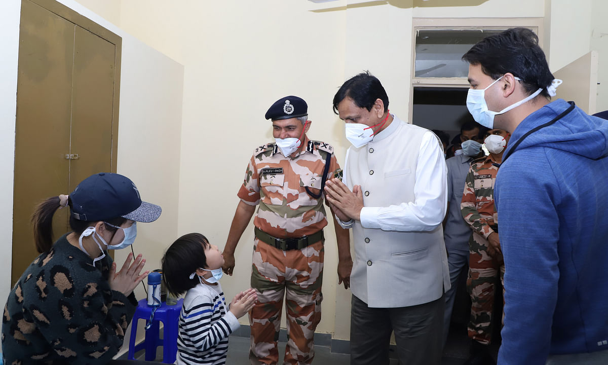 112 evacuees from China housed at ITBP Quarantine Facility test negative for COVID-19