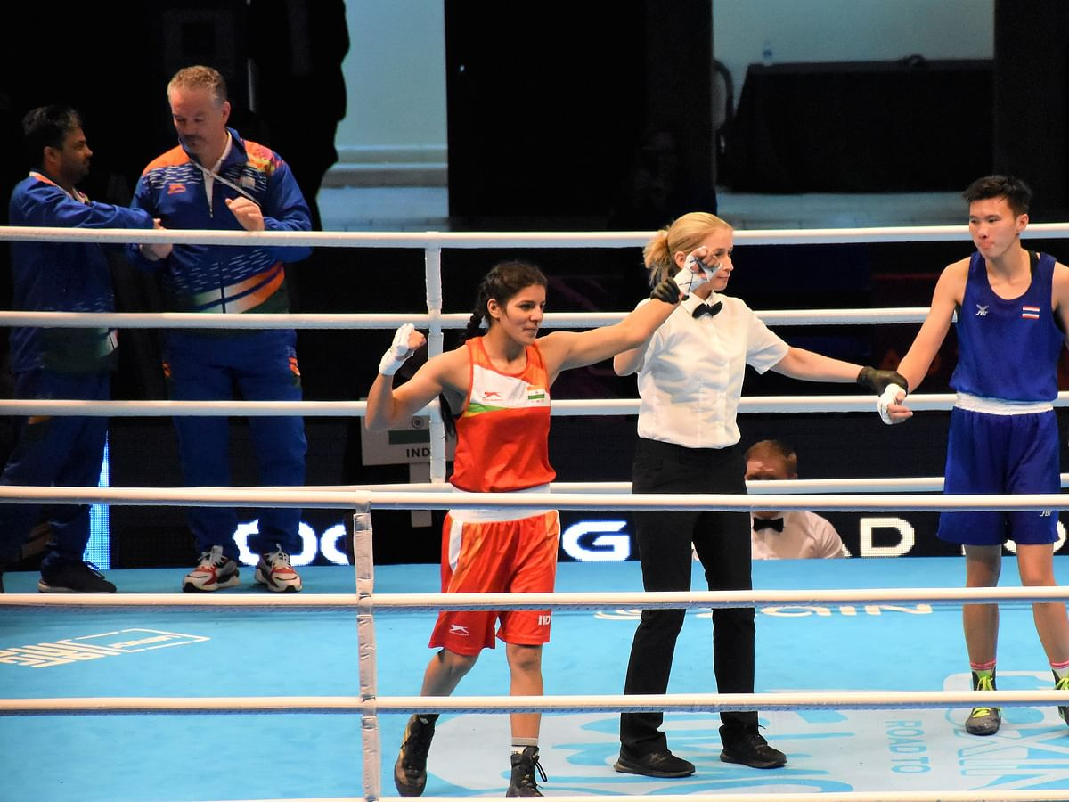 Boxing: Sakshi upsets Nilawan to move into QF of Tokyo Olympic Qualifiers