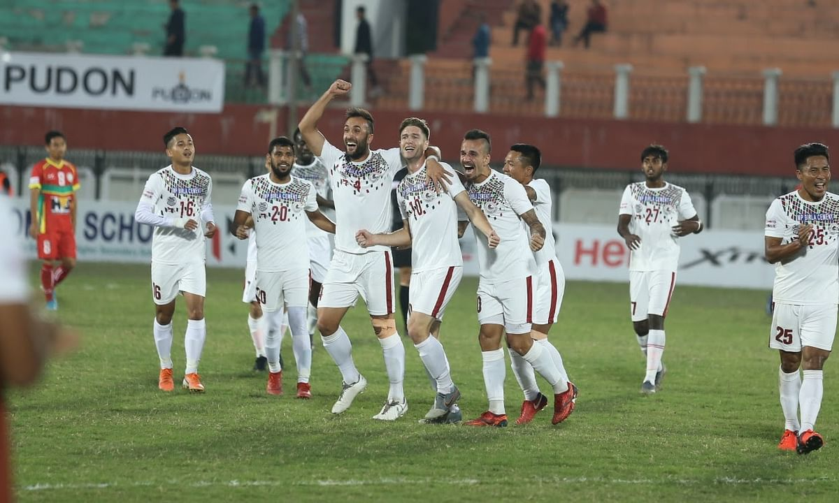 Football: Mohun Bagan inch closer to Hero I-League title with win over TRAU