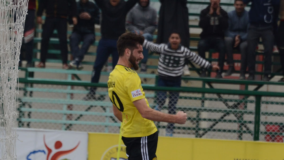 Football I-League: Real Kashmir climb to third place with win over NEROCA