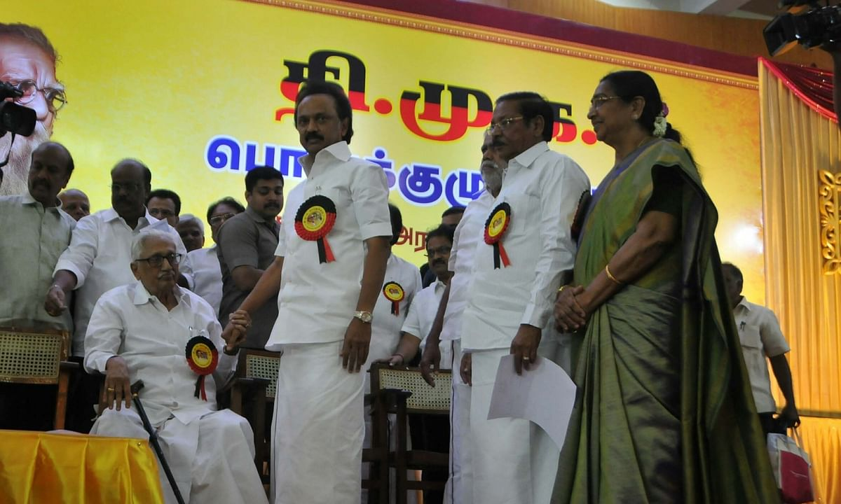 DMK General Secretary K Anbazhagan passes away at 97