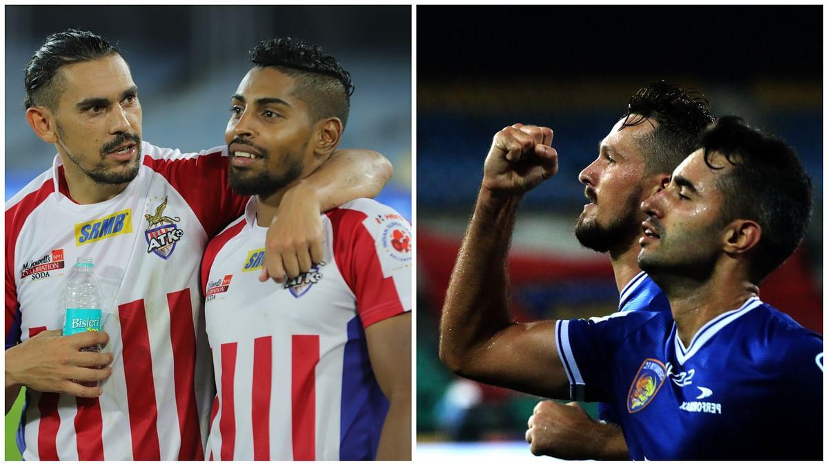 Football ISL: Twin menace trouble for ATK, Chennaiyin