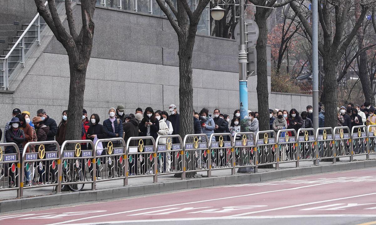 South Korea's COVID-19 cases reach 5,328