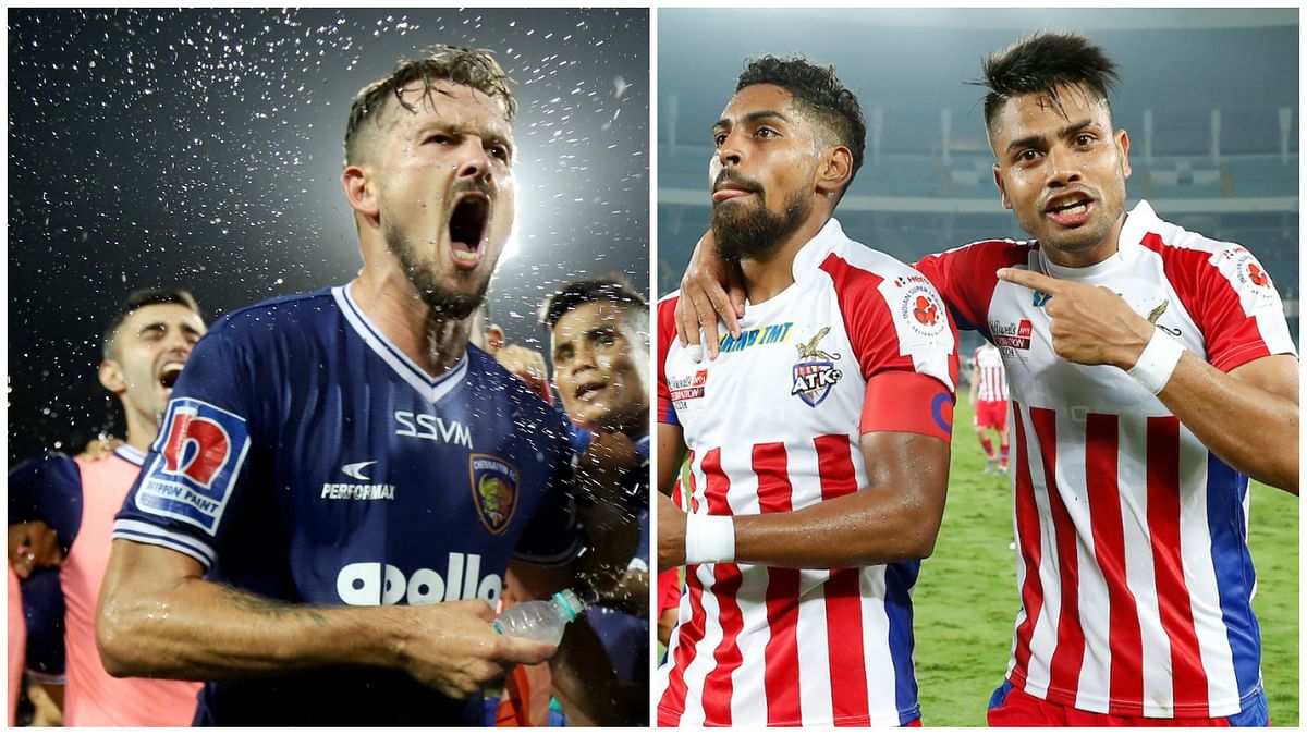 Football ISL: Chennaiyin and ATK  to face off in final for first time.