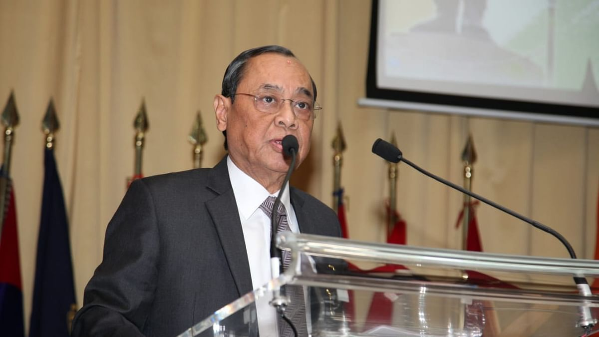 Former Chief Justice of India Ranjan Gogoi