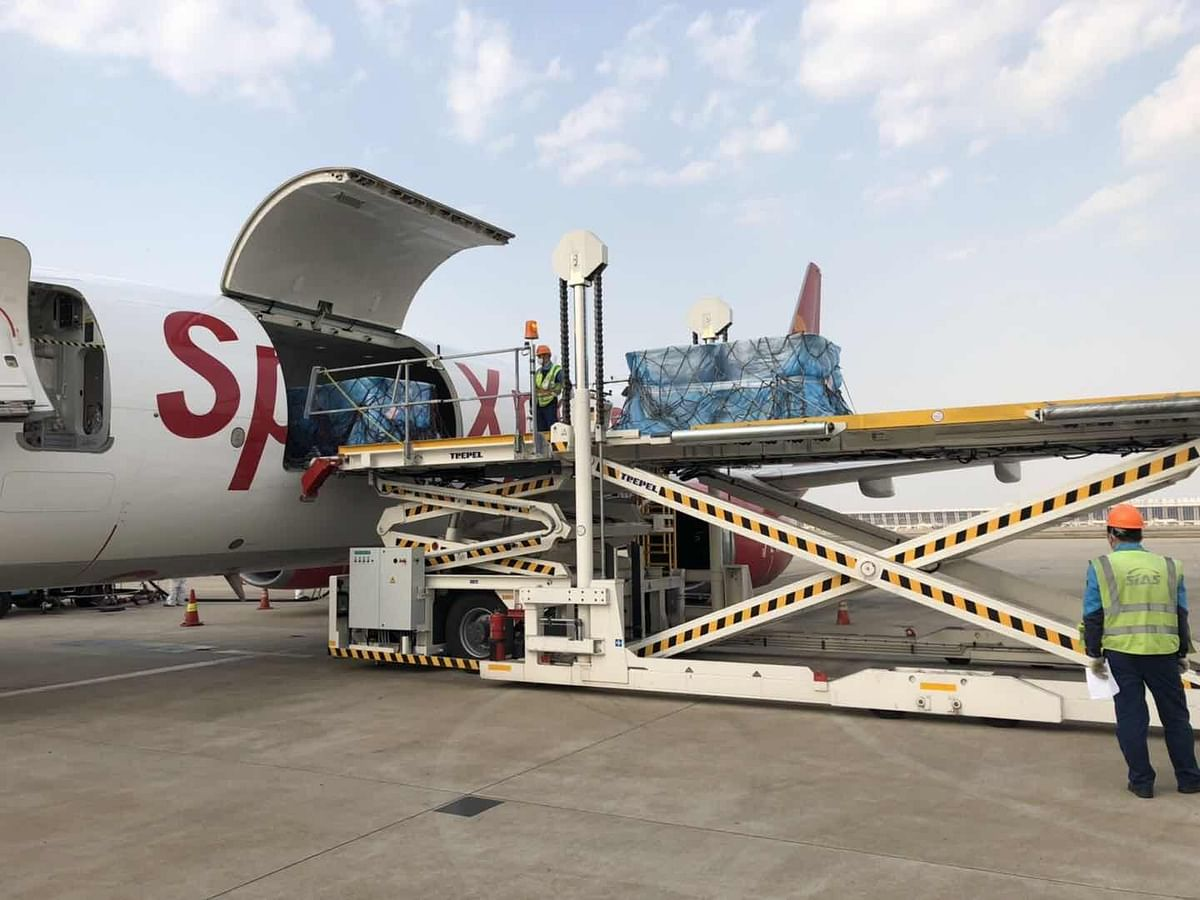 SpiceJet operates freighter flight to China to carry medical supplies back home