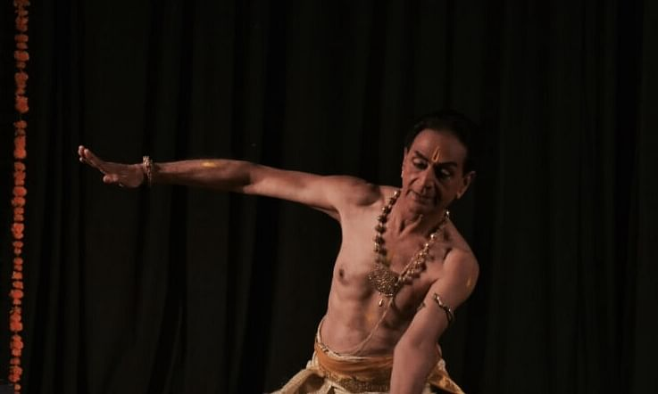 Bharatanatyam exponent C. V. Chandrasekhar, 81, enthralls dance lovers in Vadodara