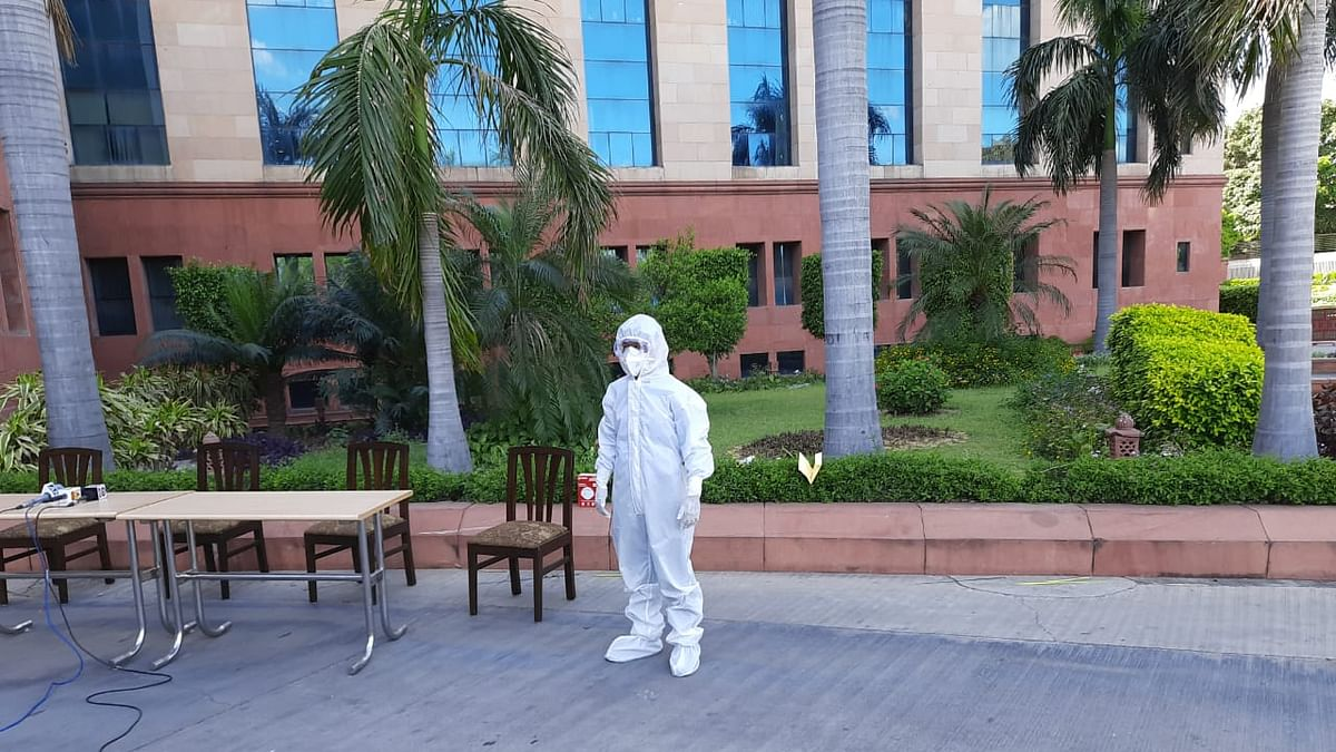DRDO develops bio-suit with seam sealing glue for health professionals fighting COVID-19