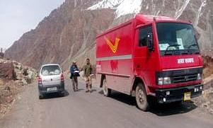 Post Offices have made special arrangements for smooth transmission of priority mail such as Speed Post, Registered Post etc. to the far flung and border areas of Jammu & Kashmir and Ladakh.