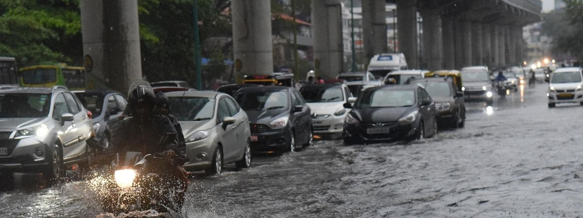 File photo of heavy rains in Kochi, Kerala, on June 9, 2019 a day after the 2019 southwest monsoon arrived in Kerala, marking its onset over the Indian mainland.
