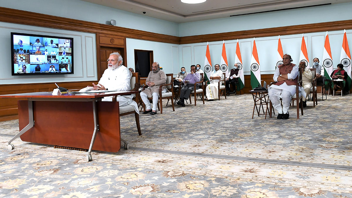 States, experts have suggested extension of lockdown to contain spread of COVID-19: Modi