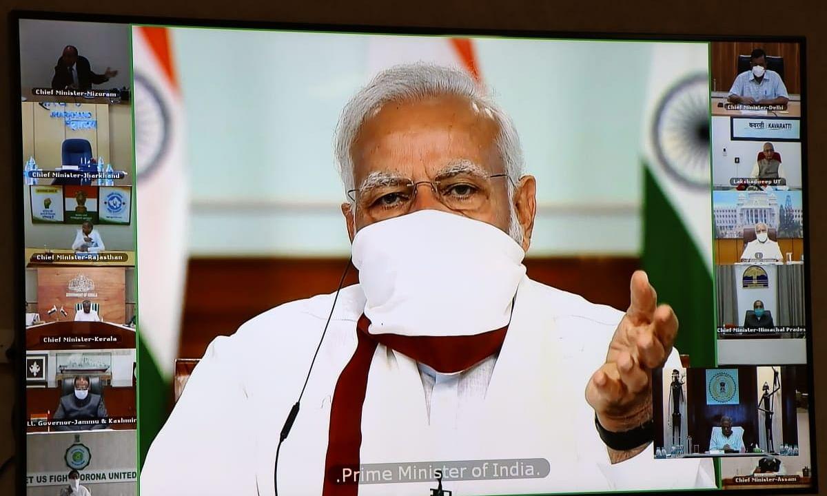 "Modi consults CMs on lockdown extension, says govt motto is ""Jaan Bhi, Jahaan Bhi"""