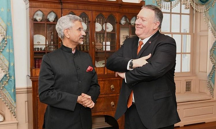Pompeo speaks with Jaishankar on coordination of efforts to respond to COVID-19