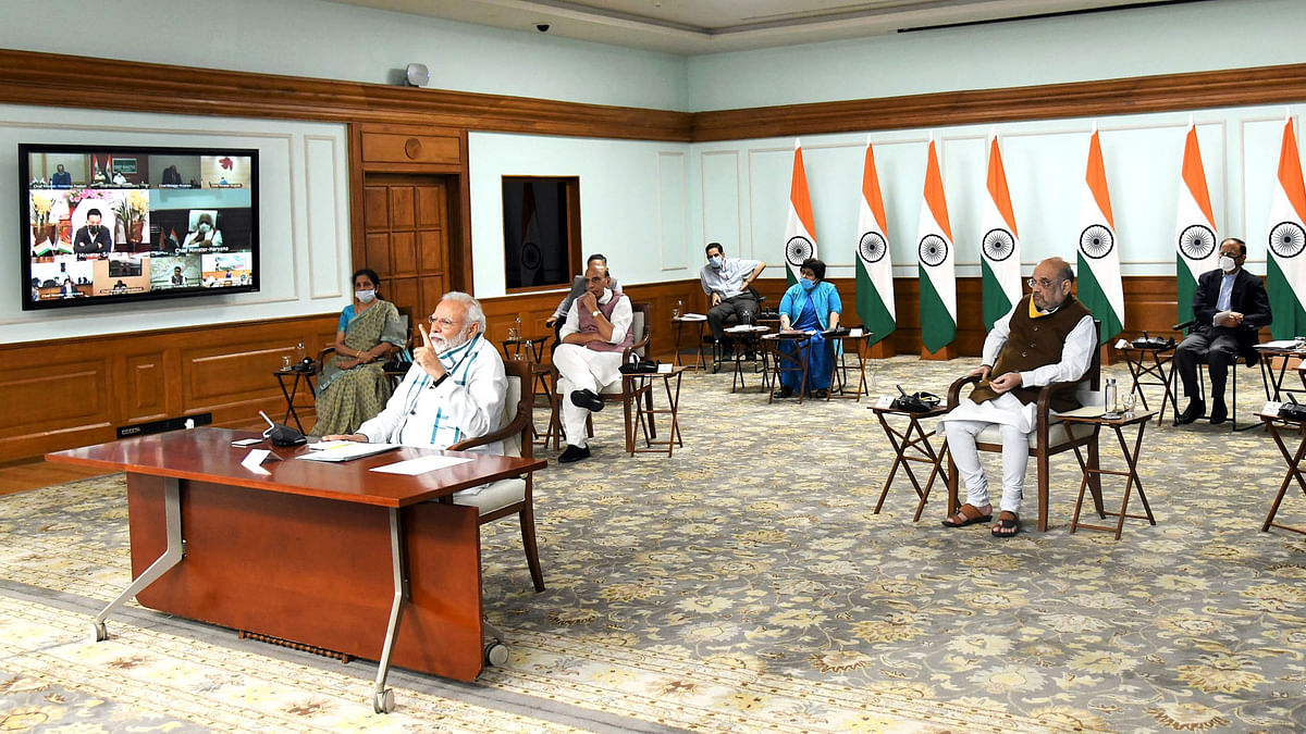 Modi says need to accord importance to economy while continuing fight against COVID-19