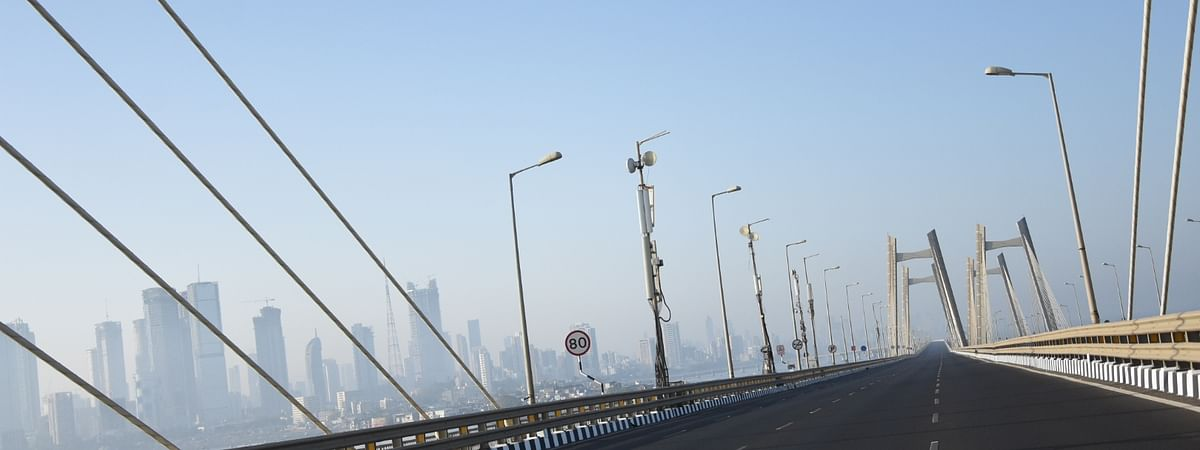 Mumbai has a deserted look during the lockdown imposed to contain the spread of the coronavirus pandemic.