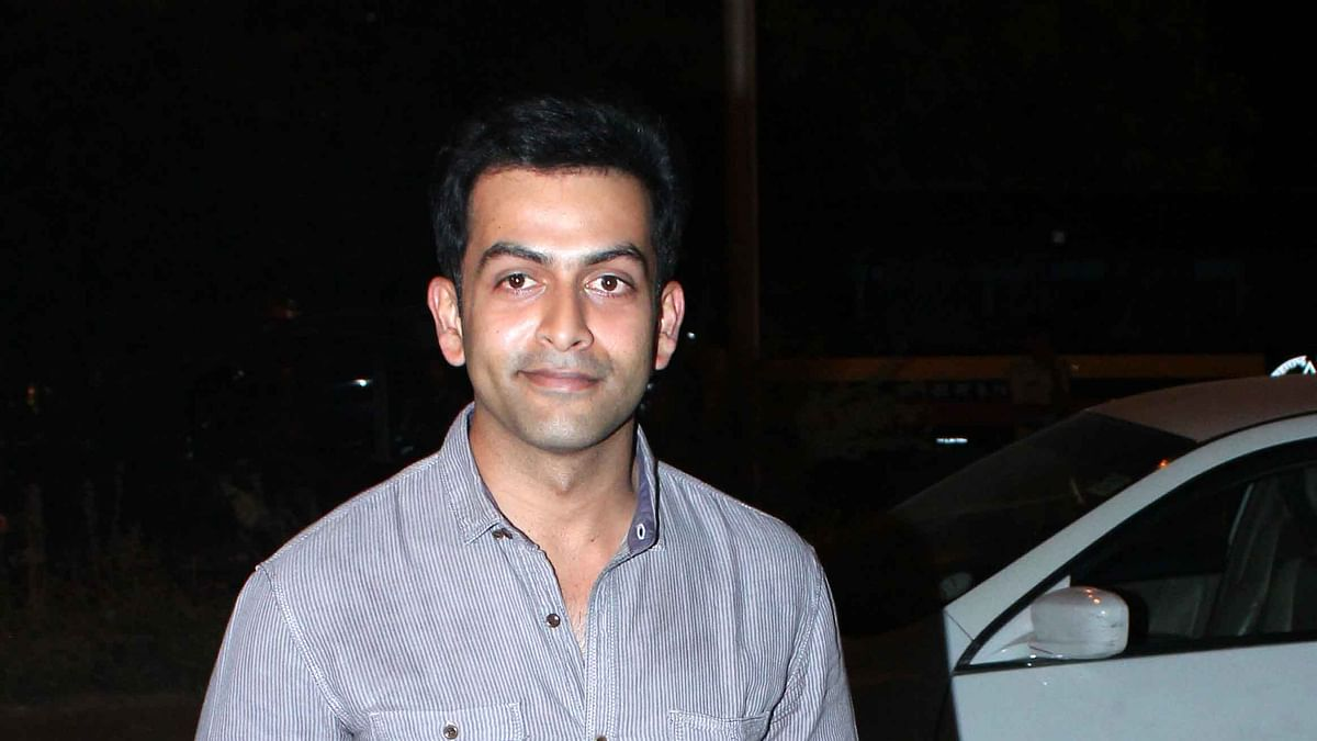 Actor Prithviraj tests positive for COVID-19, goes into isolation