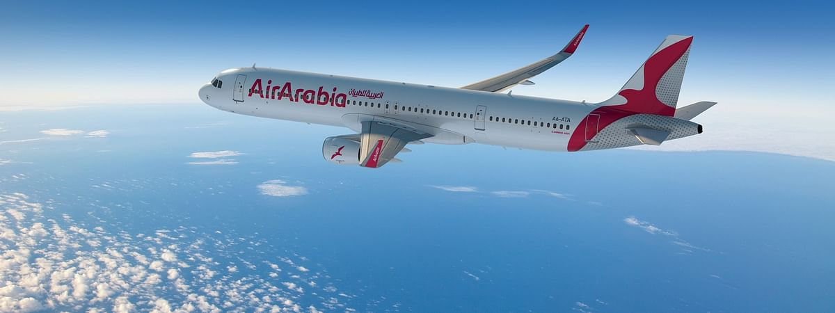 An Air Arabia aircraft