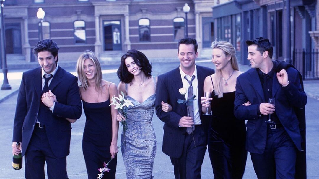 File photo of 'Friends' cast