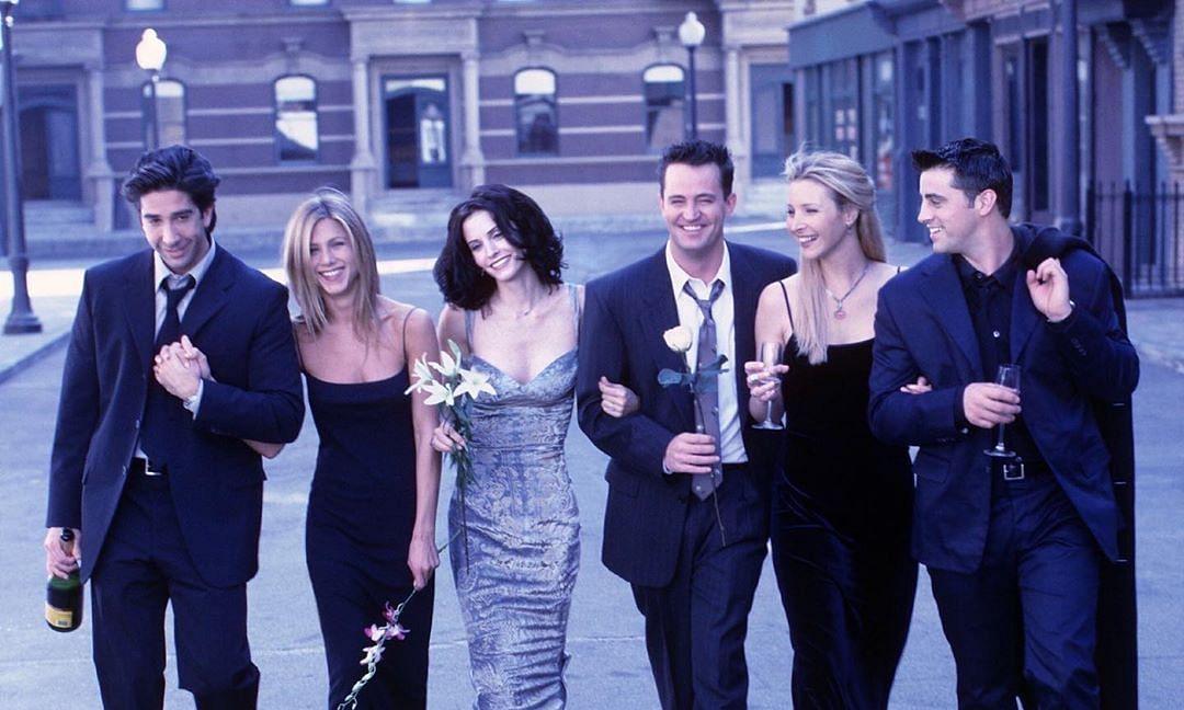 File photo of 'Friends' cast