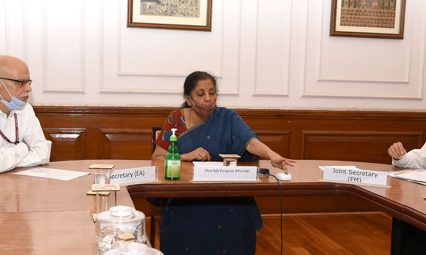 Nirmala Sitharaman launches INR-USD Futures and Options contracts in International Exchanges at GIFT-IFSC