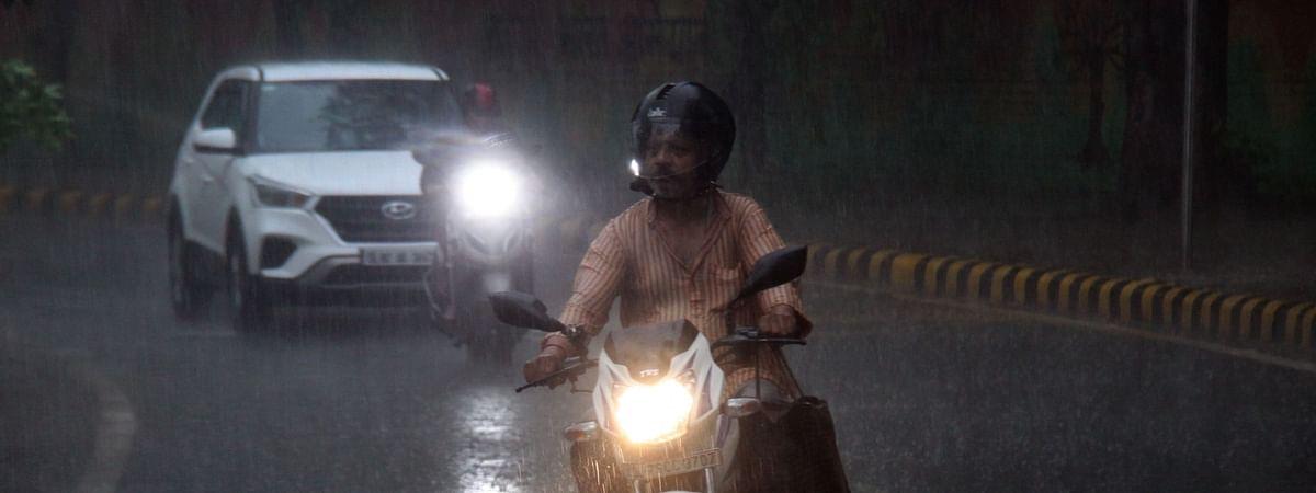 File photo of rains in Delhi