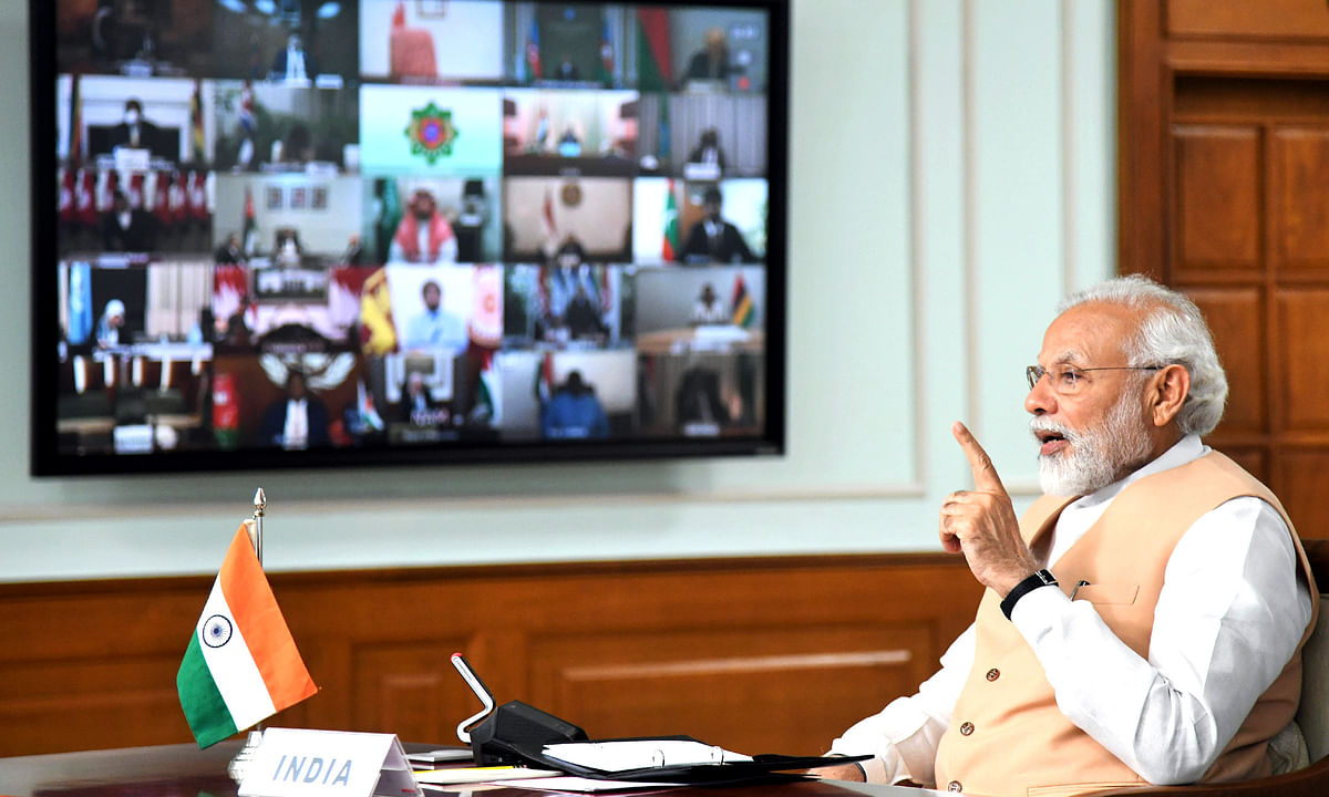 Modi slams Pakistan at NAM web-summit for terror during COVID-19 pandemic