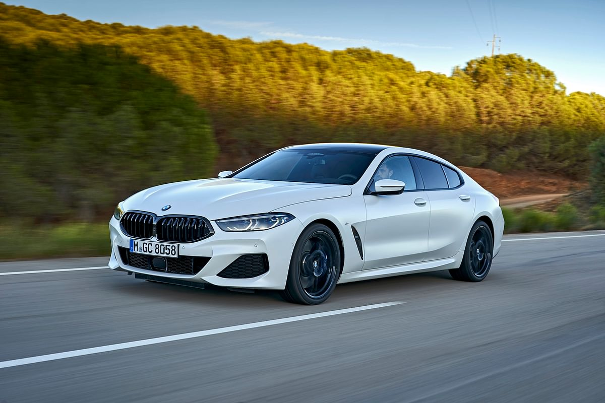 The BMW 8 Series Gran Coupe
