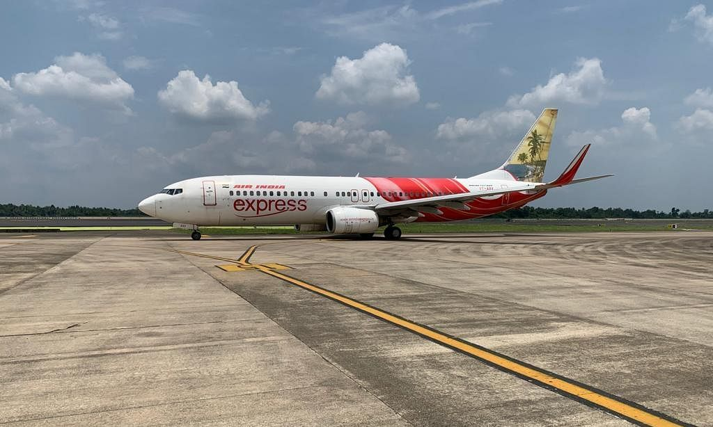An Air India Express aircraft