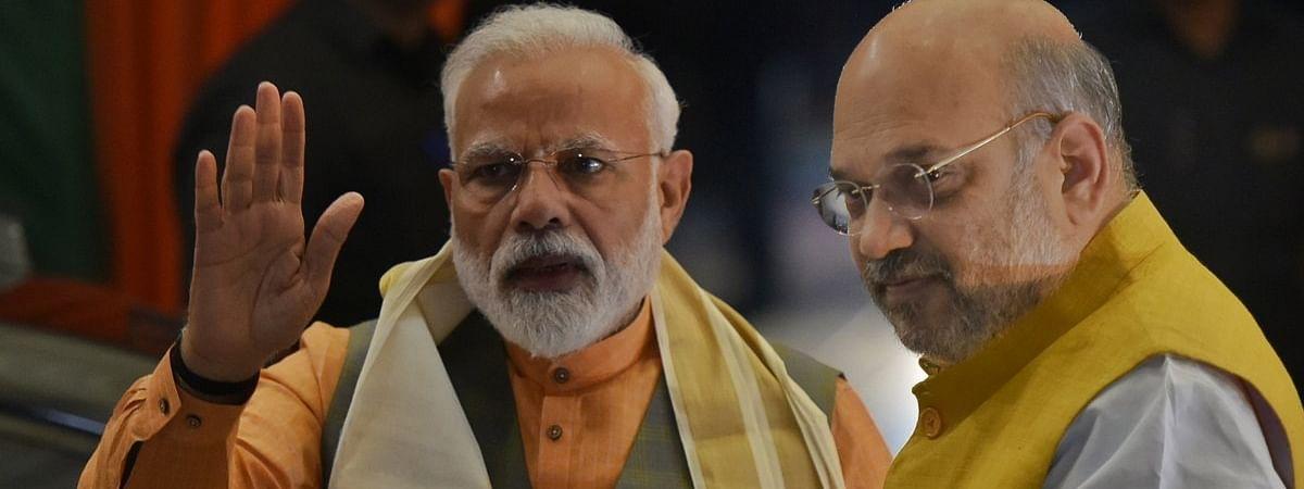 Prime Minister Narendra Modi and Home Minister Amit Shah