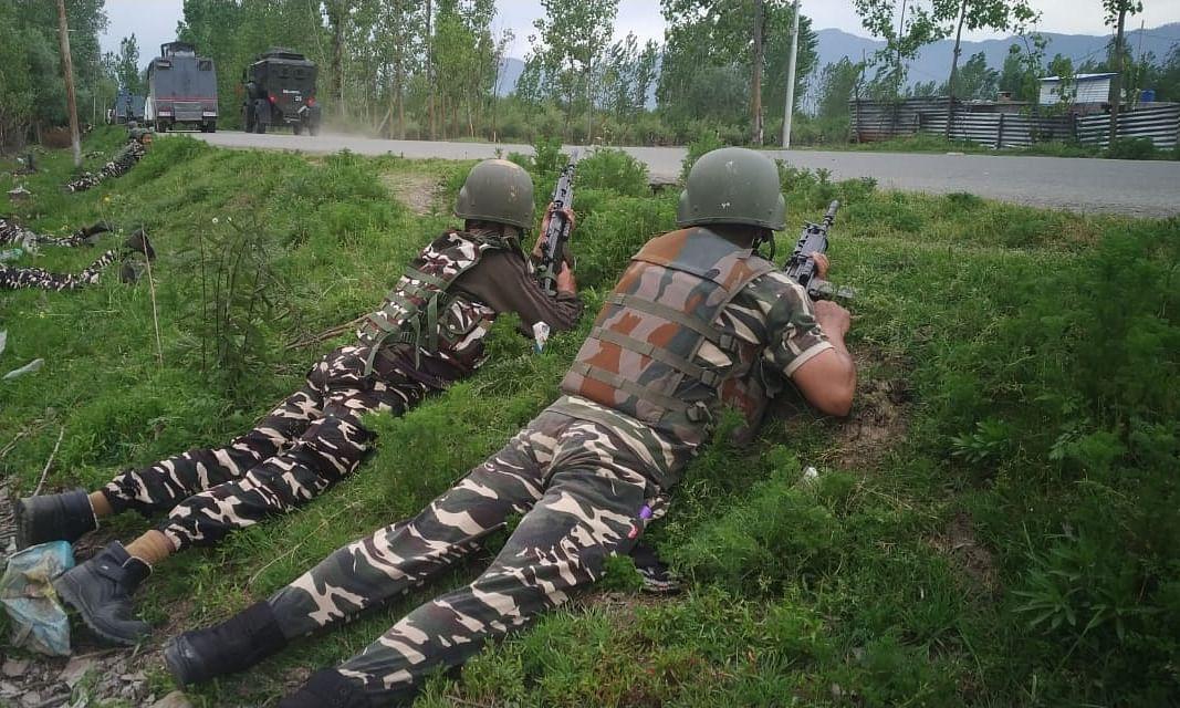 Five terrorists killed in Kashmir encounter