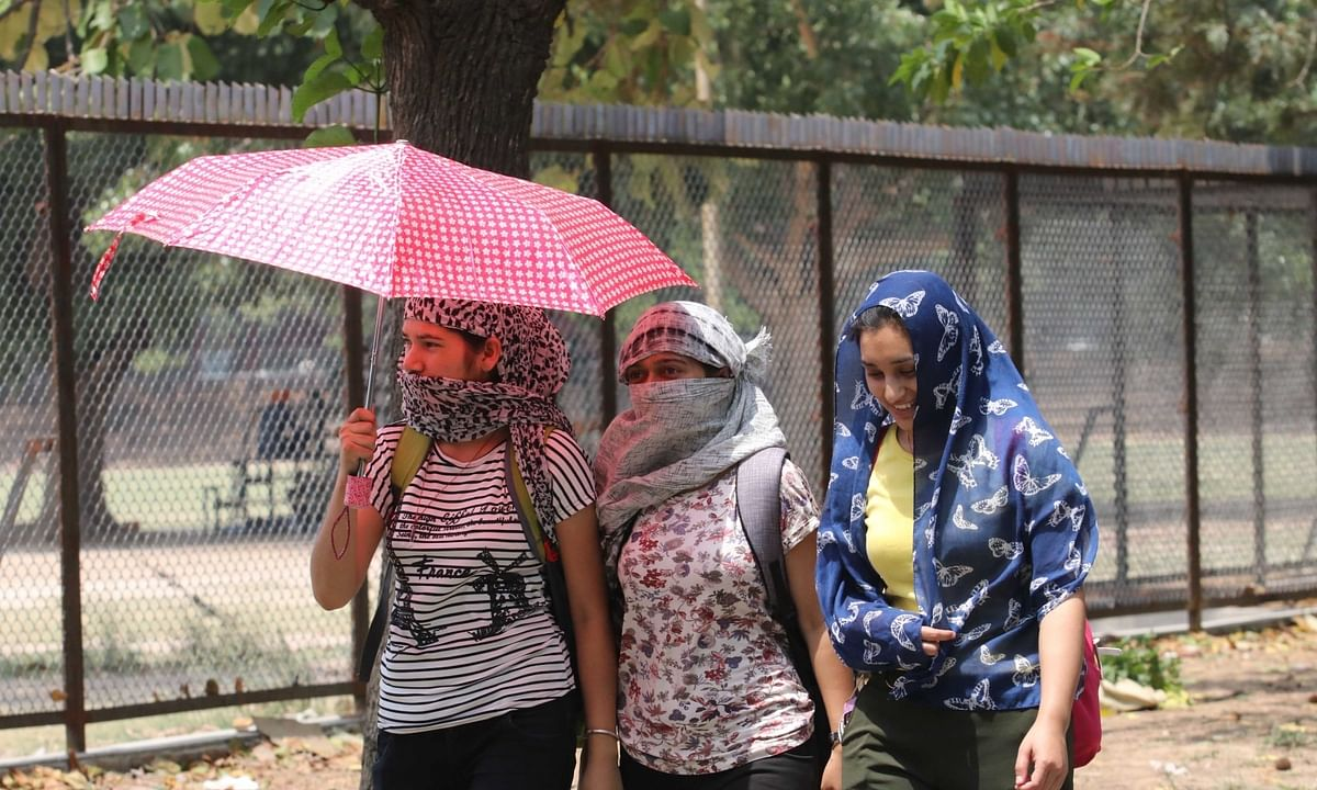 Heat wave in UP, Rajasthan till Monday