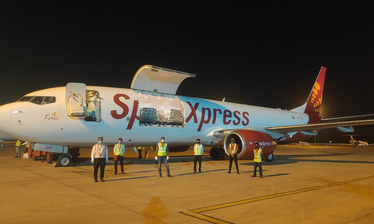 SpiceJet operates maiden freighter flight to Philippines with medical supplies