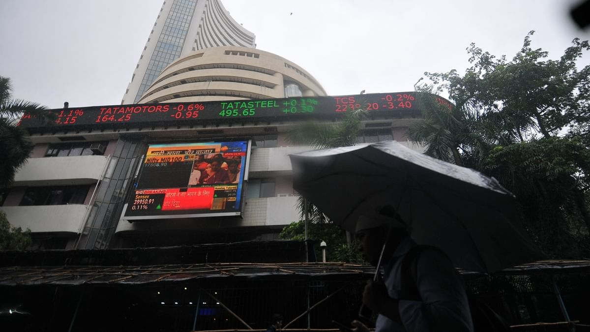 Stock market ends in red; finance, FMCG stocks fall