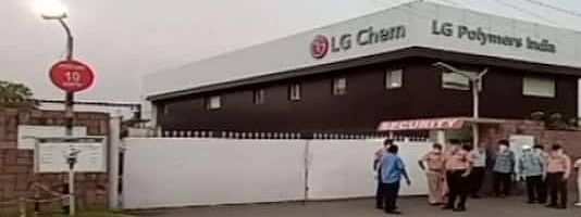 LG Polymers at Visakhapatnam in Andhra Pradesh